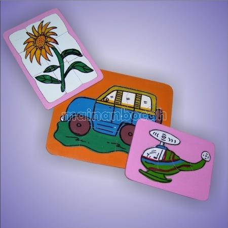 mainan edukatif - puzzle gambar