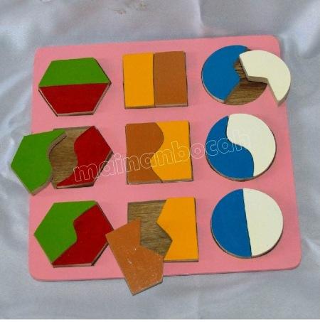 fraksi 9 shape