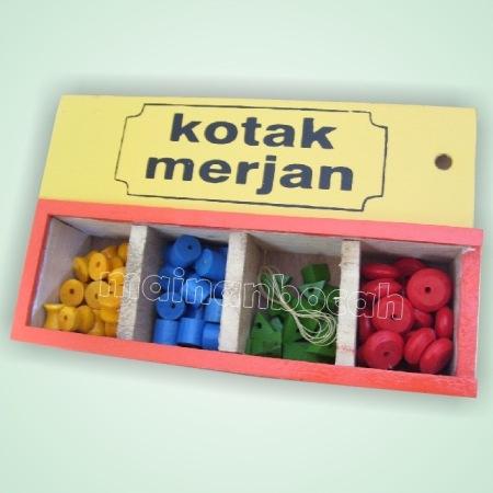 mainan edukatif - kotak merjan