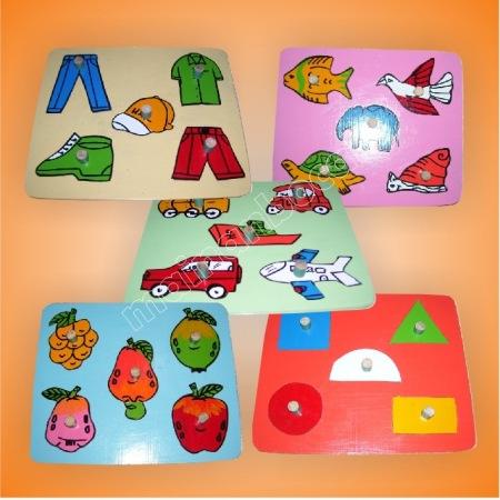 mainan edukatif - puzzle tangkai gambar