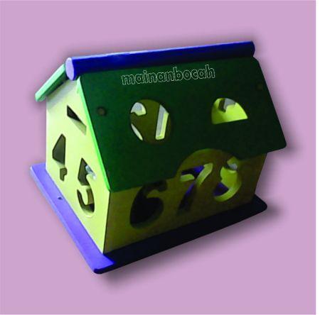 mainan edukatif rumah angka
